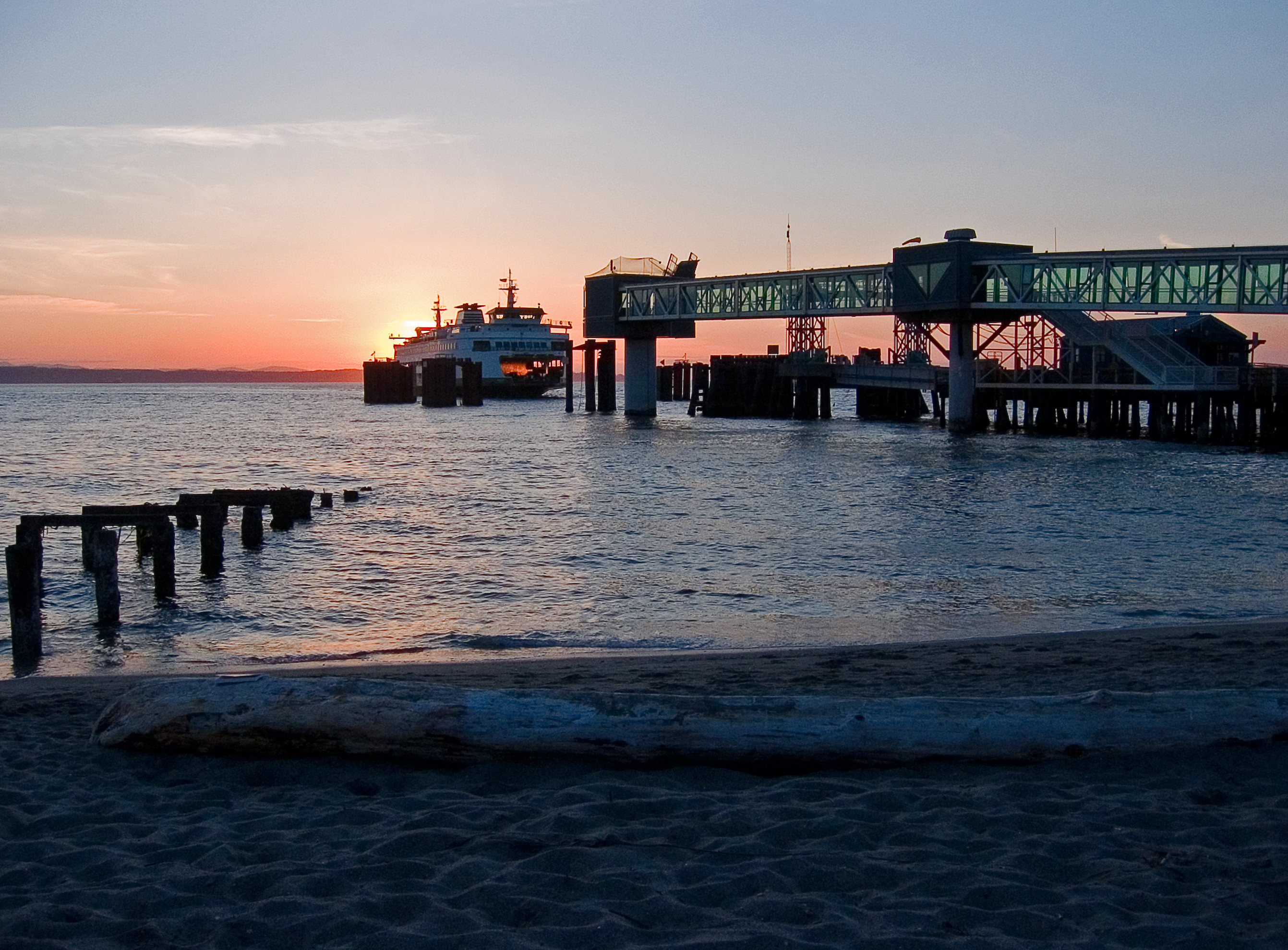Edmonds Ferry Dock